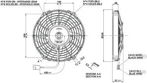 vehicle radiator fan 9 va07 ap7 c 31a radiator fans t7design va07 ap7c 31 dimensioned drawing
