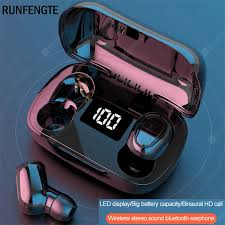 <b>RUNFENGTE Wireless</b> Bluetooth Earphone TWS 5.0 Earphones ...