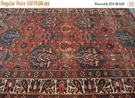 20 off 295 x 208 cm antique persian handmade tribal bakhtiari area rug low