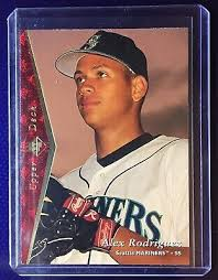 Bowman rookie cards tend to go for a decent amount of money, but unfortunately this jim thome rookie card would barely leave you with enough money fill up a tank of gas. 1995 Upper Deck Sp Alex Rodriguez Baseball Card 188 Ebay