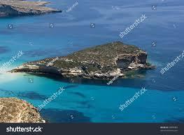 Lampedusa Island Landscape Island Rabbit Beach Stock Photo Edit Now