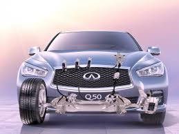 infiniti q50 exterior. infiniti q50 direct adaptive steering exterior