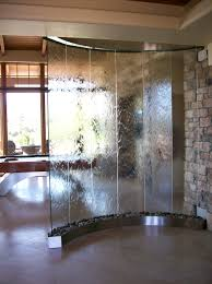 Waterfall Home Decor Wonderful Home Decor Idea With Waterfall Glass Design Beside
