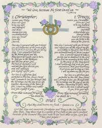 22 best christian vows images on pinterest wedding stuff, dream Wedding Vows Plaque traditional wedding vows1 wedding vow plaque