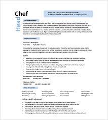 head cook job description resume - Head Cook Job Description