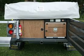 Camper Trailer Kitchen Designs Quality Camper Trailer Kitchens And Storage Solutions Outback