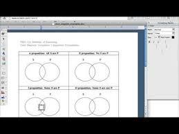 Ms Word Venn Diagram Drawing A Venn Diagram In Word Youtube