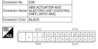 abs plug wiring diagram abs image wiring diagram nissan abs wiring diagram nissan auto wiring diagram schematic on abs plug wiring diagram