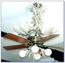 diy antler chandelier kit ceiling fan with deer pull diy antler chandelier faux outstanding intended for small kit