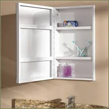 Recessed Bathroom Medicine Cabinets White Recessed Medicine Cabinet With Mirror Best Home Furniture