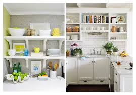 Open Kitchen Shelf Open Rack Arrangement Based On Feng Shui Home Improvement Project