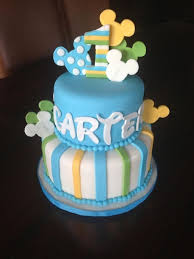 Baby Mickey Mouse 1st Birthday Cake Original Design By Lil Miss