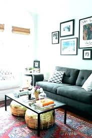 new rug for grey couch and dark grey couch decor best living room ideas the gray