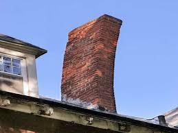 chimney flashing repair cost leaning