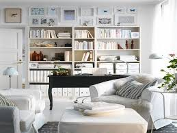 home office in living room. Awesome Living Room Office Combo Home In