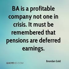 Ba Quote Stunning Brendan Gold Quotes QuoteHD