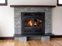 contemporary faux stone electric fireplace