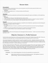 Resumes Personal Statements Resume Personal Statement New 21 Best Resume Objective Statements
