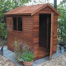 cedar garden shed. Malvern Apex Heavy Duty Shed Cedar Garden A