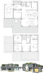 Fascinating Open Floor Plans For Homes Architecture  IntenzyModern Open Floor House Plans
