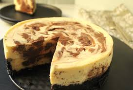 chocolate marble cheesecake. Interesting Marble In Chocolate Marble Cheesecake