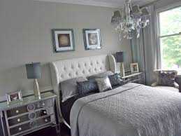 silver and white bedroom decor.  And Image Of Calm Silver Bedroom Idea On And White Decor T
