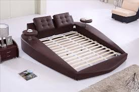 Round Bed, King size bed Top Grain Leather headrest round Soft Bed, Bedroom  Furniture Soft Bed with tea table on side B72-in Beds from Furniture on ...