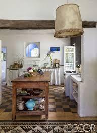 Image Interior Rustic Kitchens Ricardo Labougle Elle Decor 25 Rustic Kitchen Decor Ideas Country Kitchens Design