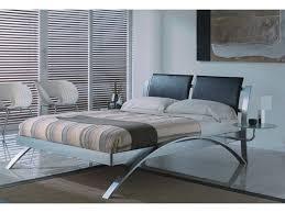 chrome bedroom furniture. Spain Chrome Queen/King Size Platform Bed Bedroom Furniture O