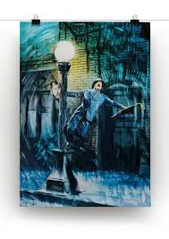 Singing In The Rain Canvas Print or Poster