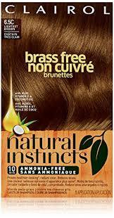 Natural Instincts Brass Free Brunettes 6 5c Lightest Brown