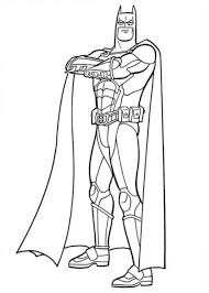 Printable Batman Coloring Free Online Printable