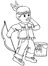 Small Picture Indian Coloring Pages Coloringpages1001com