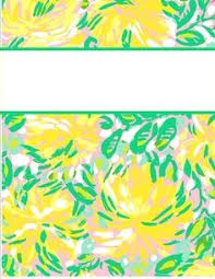 32 Best Lilly Pulitzer Vera Bradley Binder Covers Images Cute