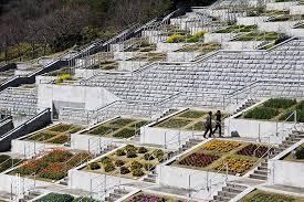 tadao ando the hundred step garden at