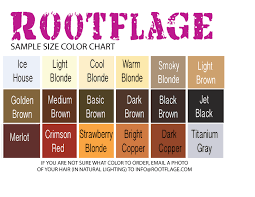Rootflage Root Touch Up Sample Size Any Color