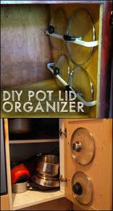 Kitchen Storage For Pots And Pans 17 Best Ideas About Pot And Pan Lids On Pinterest Pan