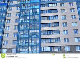The New Modern Apartment Building Stock Images Image - Modern apartment building facade