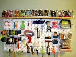 ... Mind Blowing Pegboard Decoration For Craft Room Design Ideas :  Astounding Craft Room Design Ideas With ...