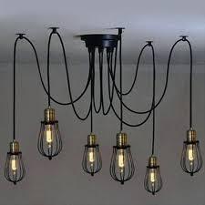multi light chandelier six light wire guard swag led multi light pendant in black multiple light multi light chandelier