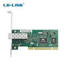 <b>LR LINK</b> 7020PF <b>SFP</b> PC Computer 100FX <b>PCI</b> Ethernet Network ...