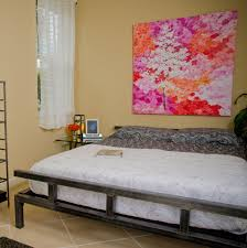 Low Profile Bedroom Furniture Low Platform Bed Frame Give Your Bedroom A Modern Touch With This