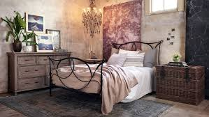 rustic chic bedroom furniture. Sienna Iron Bed Rustic Chic Bedroom Furniture T