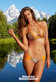 plus size models sports illustrated meet ashley graham the sports illustrated swimsuit issues first