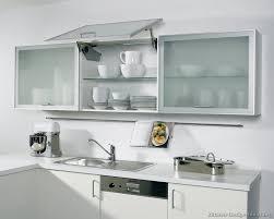 gorgeous glass cabinet doors kitchen