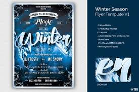 Winter Flyer Template Bundle ~ Flyer Templates ~ Creative Market