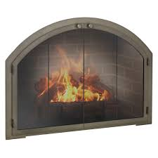 arched glass fireplace doors. Arch Fireplace Doors | WoodlandDirect.com Glass Arched M