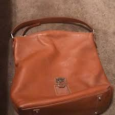dooney bourke handbags dooney and bourke saddle color leather handbag