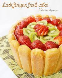 Ingredients• 1 pkg lady finger biscuits• 300g chocolate• 300ml c. Lady Finger Fruit Dessert Chef In Disguise