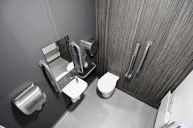 commercial washroom executive toilet